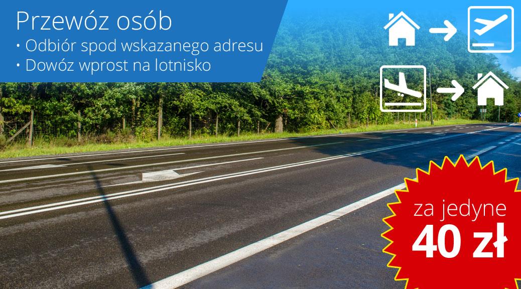 Busy z Ostródy do Gdańska na lotnisko